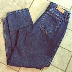 Vintage High Waisted Mom Jeans Riders 14M Blue